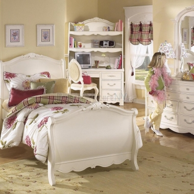 pink girls bedroom set