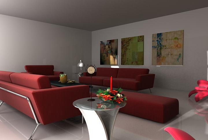 3d living room by noor azam niger for 3d room design apk