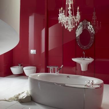 bathroom red