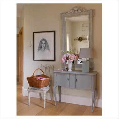 "a ledge on the wall"" - console table"