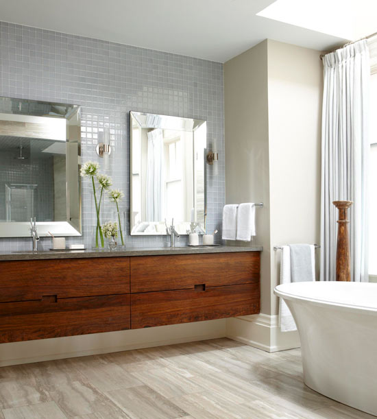 Clutter Free Bathrooms With Vanities
