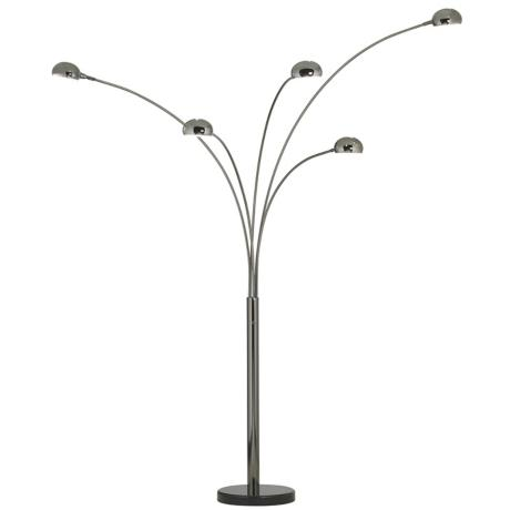 Stylish floor lamp designs again version of a arc lamp with more arms fine arm lamp is a fun retro lamp that features multiply lighting solutions each lamp head is placed at a mozeypictures Gallery