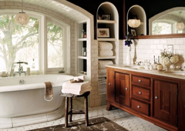 Jessica Alba Master Bathroom