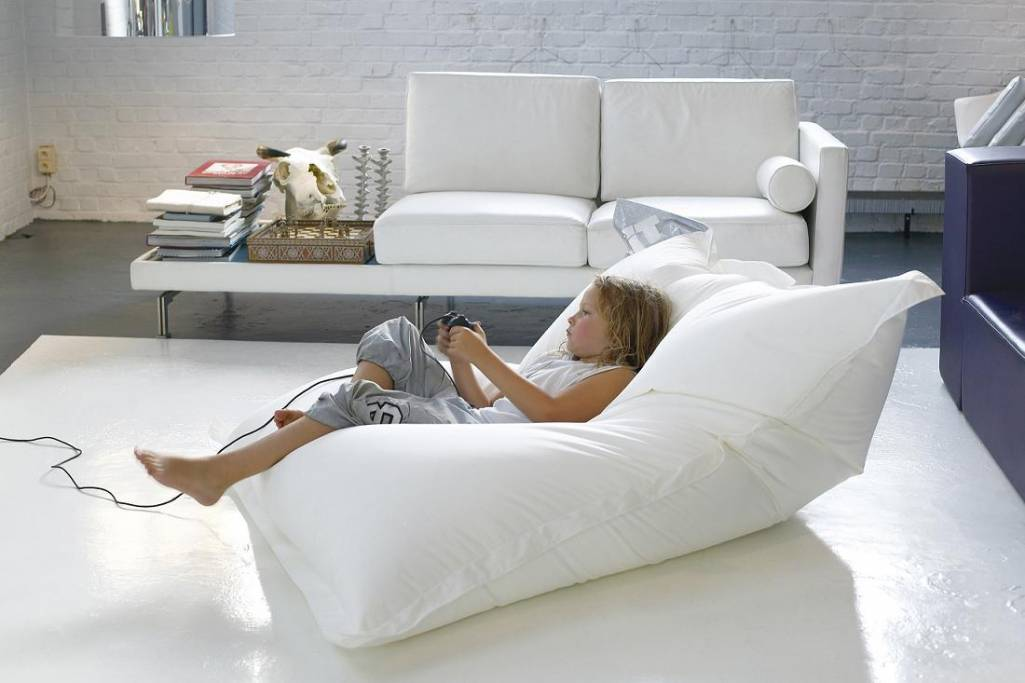 living room decor with bean bags gallery
