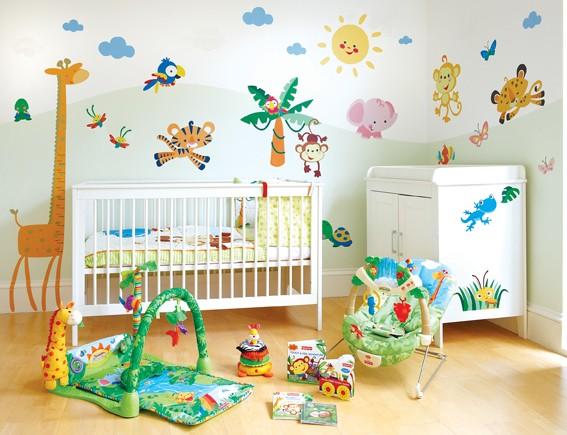 Детская комната как украсить
