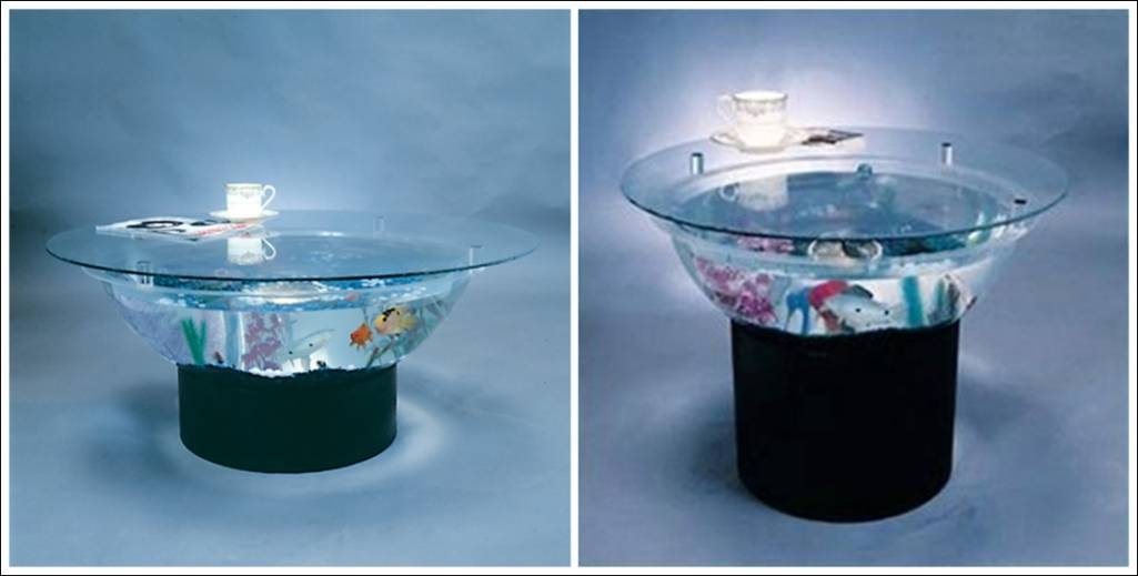 Fish Tank TablesThey Hold Alive Tranquility