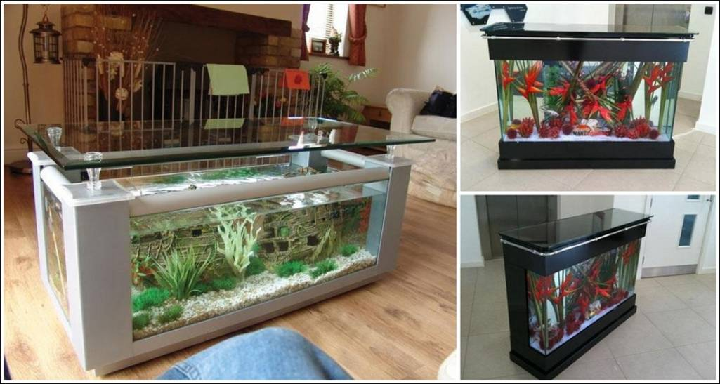 Fish Tank TablesThey Hold Alive Tranquility : 315 from www.amazinginteriordesign.com size 1025 x 547 jpeg 76kB