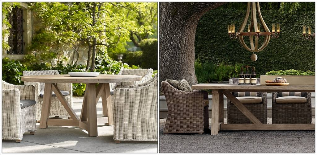 restoration hardware these are bucket armchairs named as they come with four colour options of the wicker a chair will cost you - Restoration Hardware Outdoor Furniture