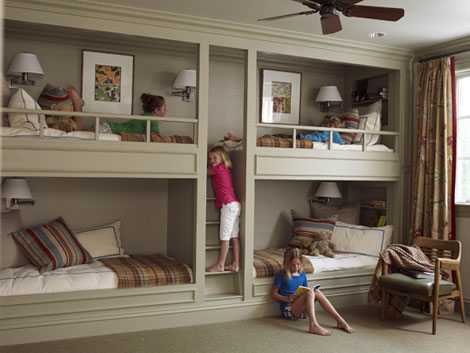 Amazing Interior Design Stylish Bunk Beds For Girls!