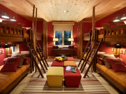 Amazing Interior Design Stylish Bunk Beds For Girls