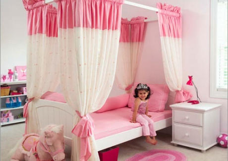 Girls Canopy Beds Design Picture2