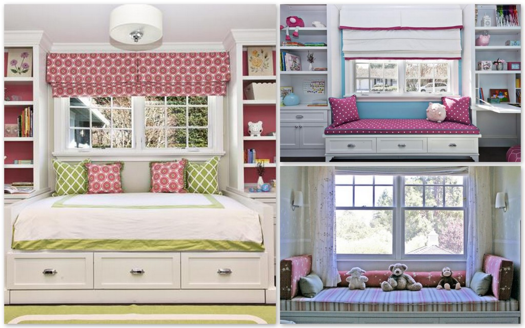 Window Seats For Kid\'s Rooms