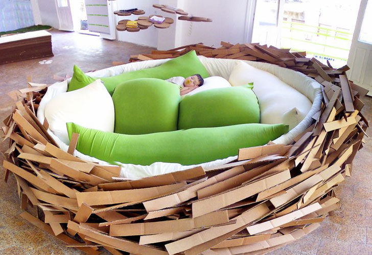 home group of garden s placed bedroom about ideas unusual available the three oge for an in this is has funny nest bed sizes created shape company a bird largest
