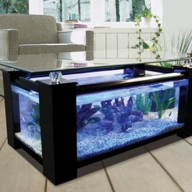 coffee table aquarium, coffe table design, aquarium, table