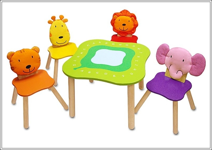 Cute Table And Chairs Activity Set For Juniors