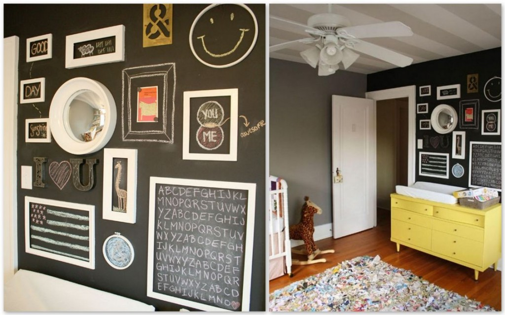 Wall decor ideas for kid\'s rooms!