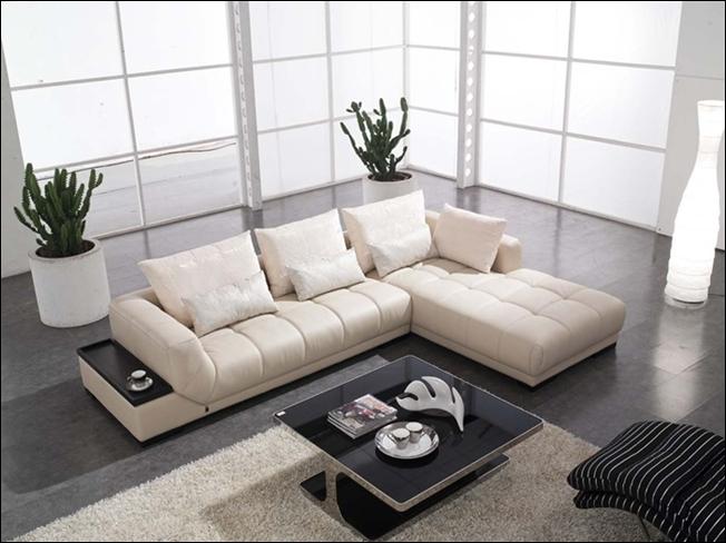 Modern sectional sofas for living rooms for Sofas en l modernos