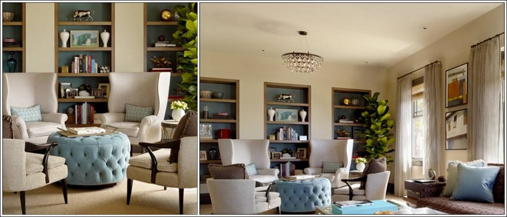 Create magic with four chairs in living room for Living room 2 seating areas