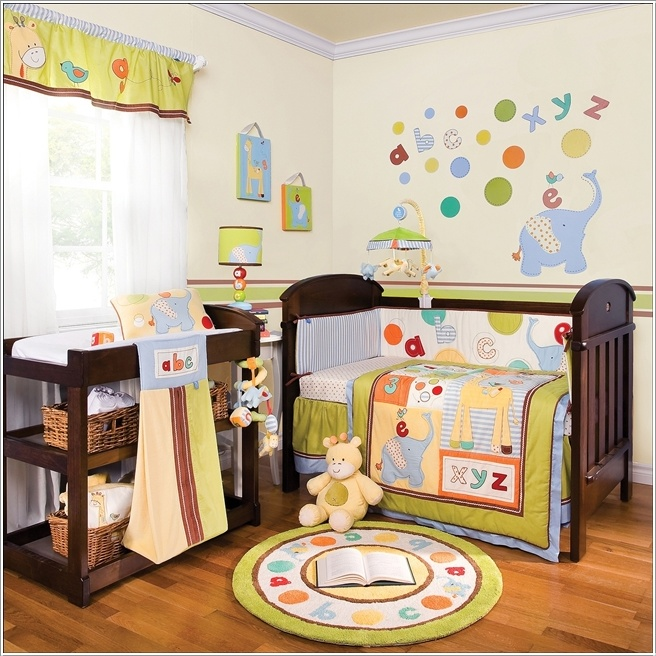 Crib Bedding Sets To Liven Up Your Baby