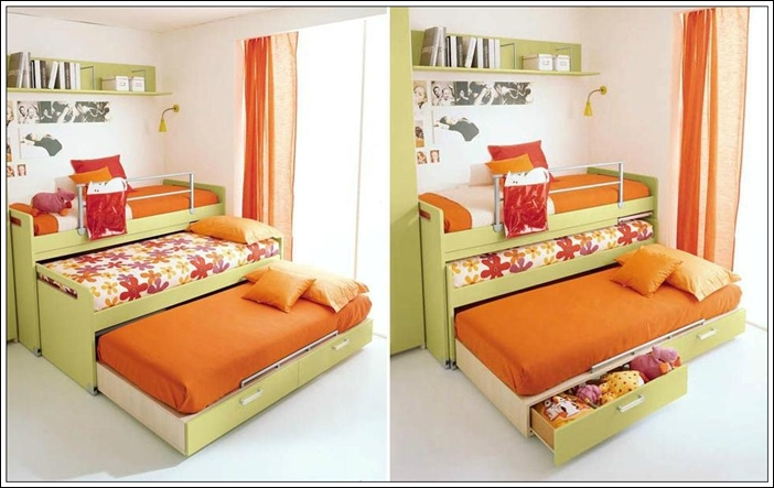 Save Space Smartly With Trundle Beds!