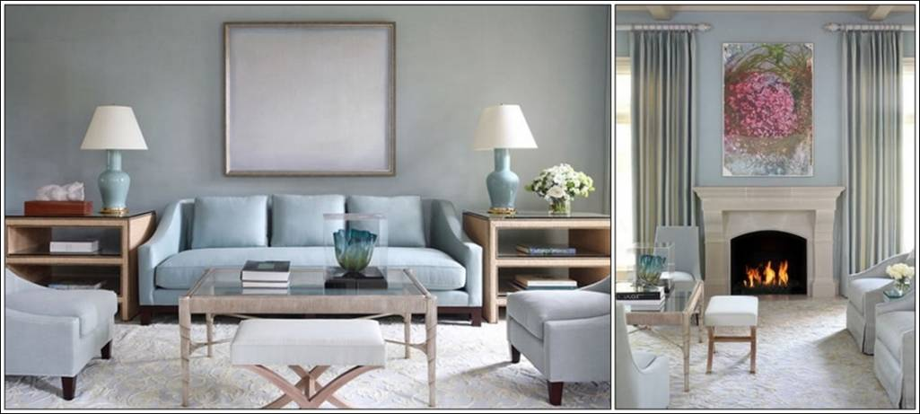 How about chalky pastels in your living room for Living room ideas pastel