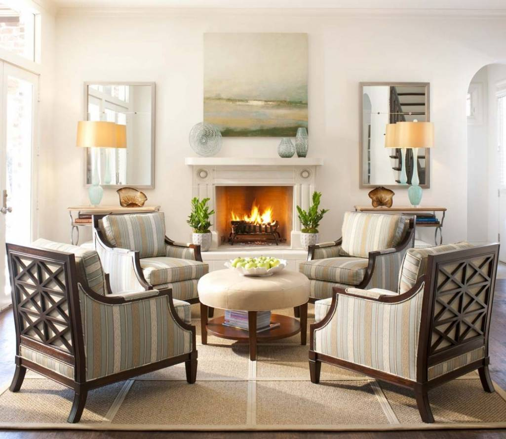 Seating Ideas For A Small Living Room: Create Magic With Four Chairs In Living Room
