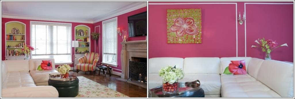 Splash Some Cheerful Raspberry Hues In Your House