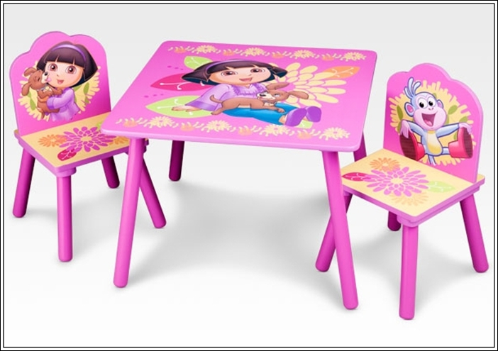 Cute Table and Chairs Activity Set For Juniors!