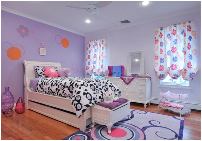 Add luscious lavender to your rooms the pretty purple for Lavender bedroom decor
