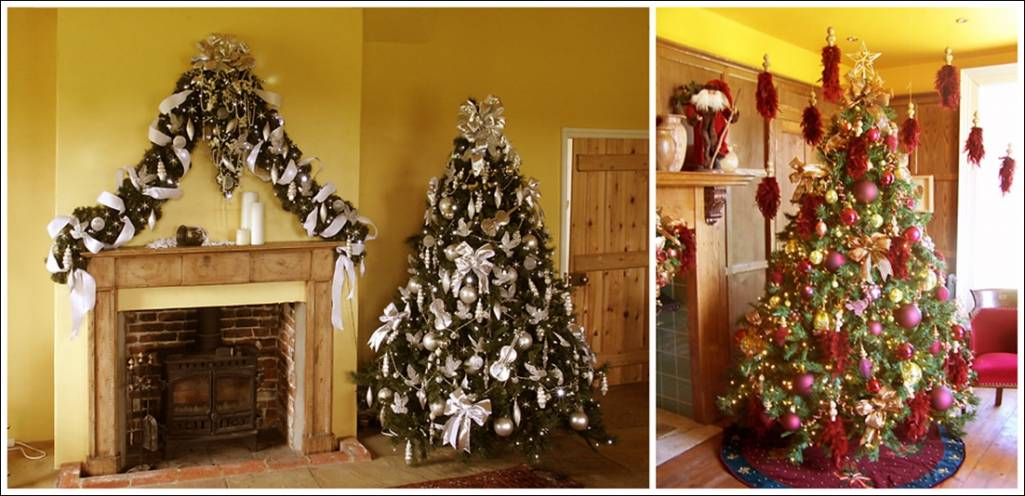 Enchanting christmas decorations for your living room Christmas decoration in living room