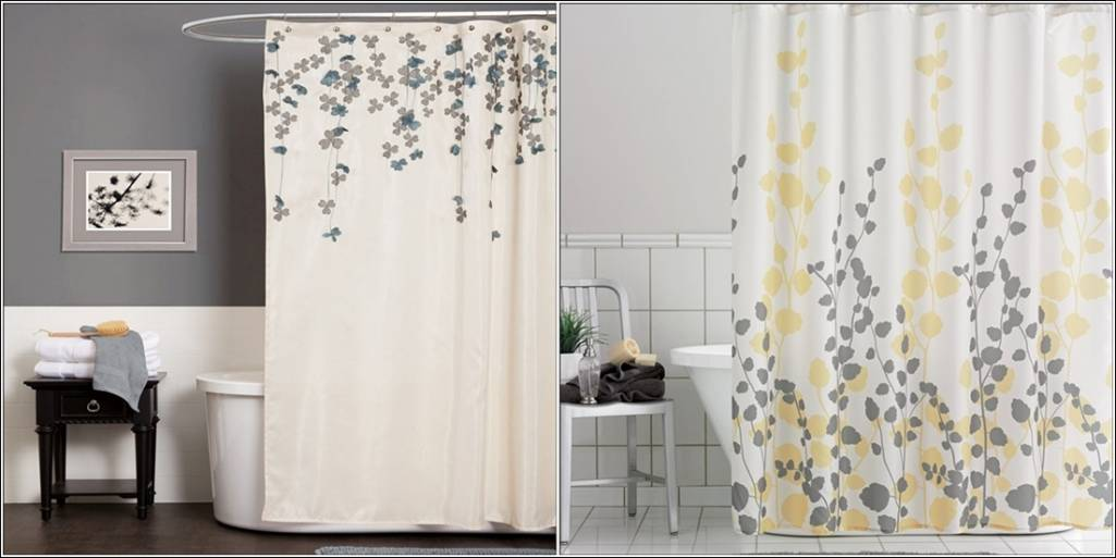 Bath bath bathroom accessories floral bathroom accessories set - Classy Shower Curtains For Your Bathroom