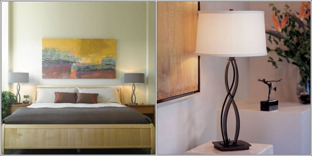 Side Table Lamps For Your Bedroom !