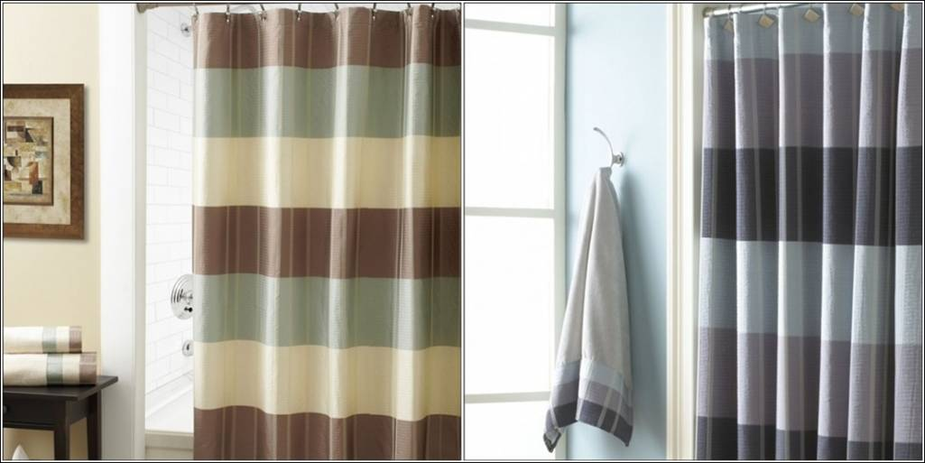 beige and brown shower curtain. Classy Shower Curtains For Your Bathroom  Threshold Kareem