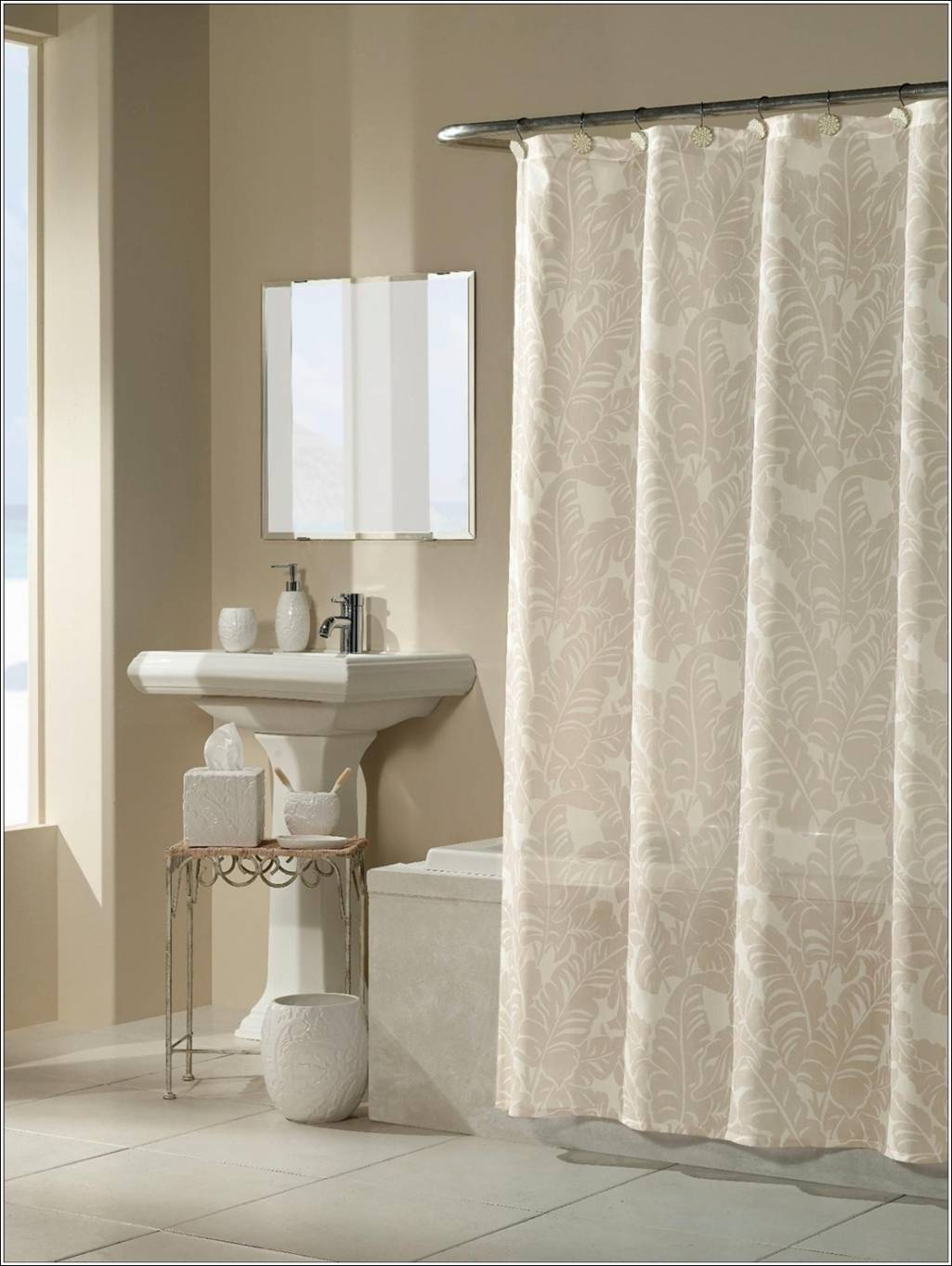 Panel Curtains For Sliding Glass Doors Shower Curtains at Sears
