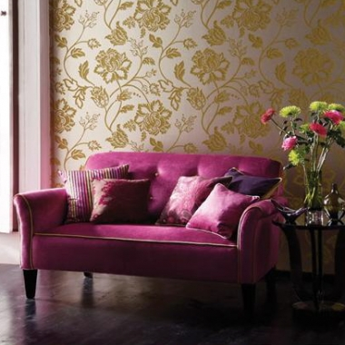 Floral-motifs-fabric-wall-covering-ideas