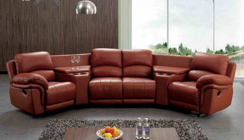Perfect elegance in your home luxury leather sofas - Salon de luxe en cuir ...