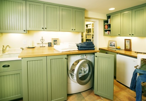 How to set up your personal kitchen setting up kitchen for Kitchen cabinet washing machine