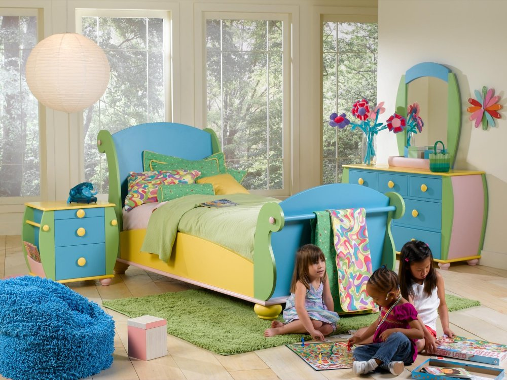 Kids bedroom designs good decorating ideas - Child bedroom decor ...