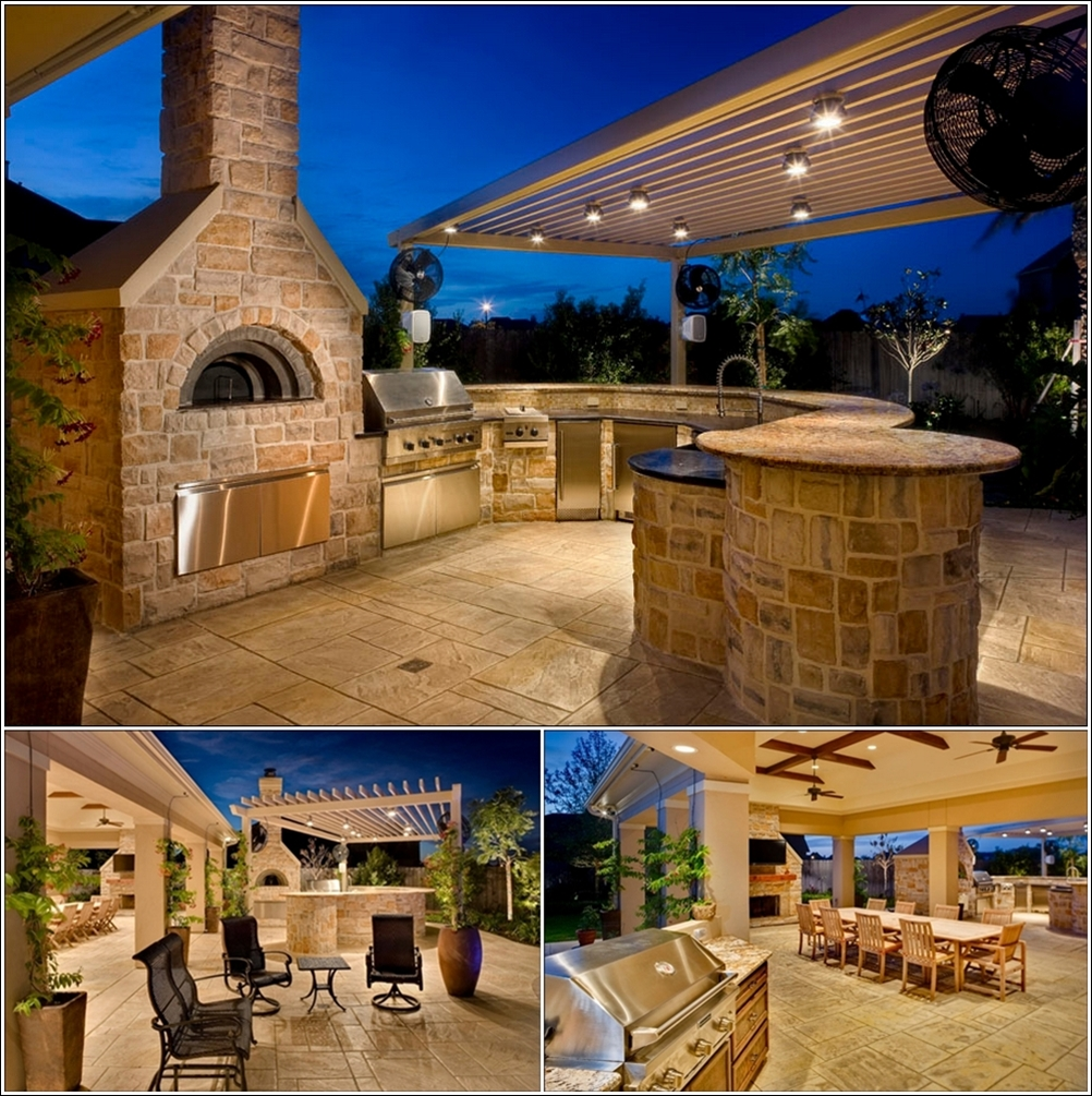 Incredible Outdoor Kitchen Design Ideas On Backyard: Stupendous Outdoor Kitchens