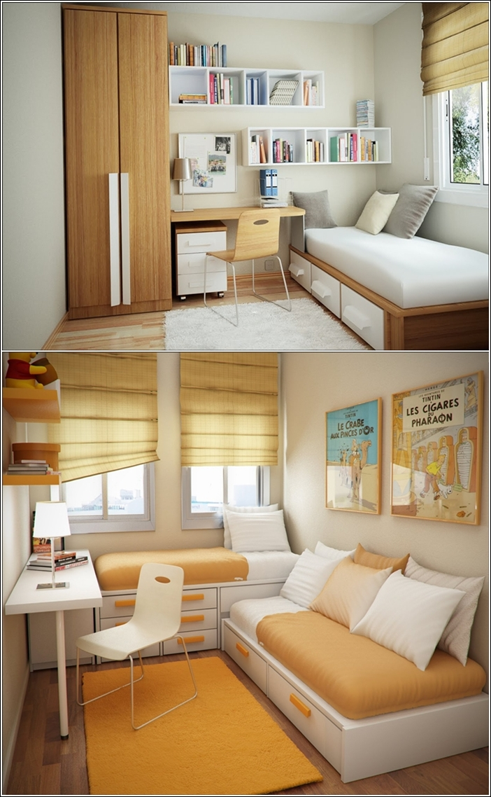 Small 10x10 Study Room Layout: Décor Ideas For Small Rooms