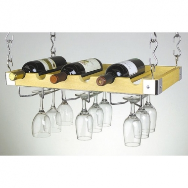 6+Bottle+Hanging_Wall+Wine+Rack+in+Natural