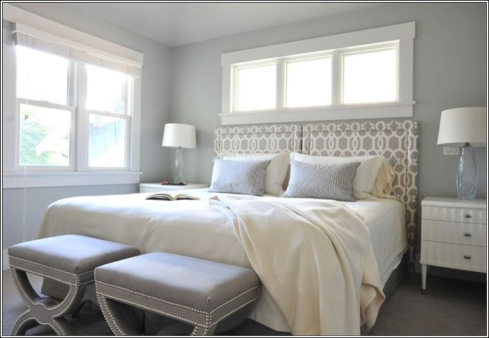 D cor ideas for small rooms for Bedroom ideas white and grey