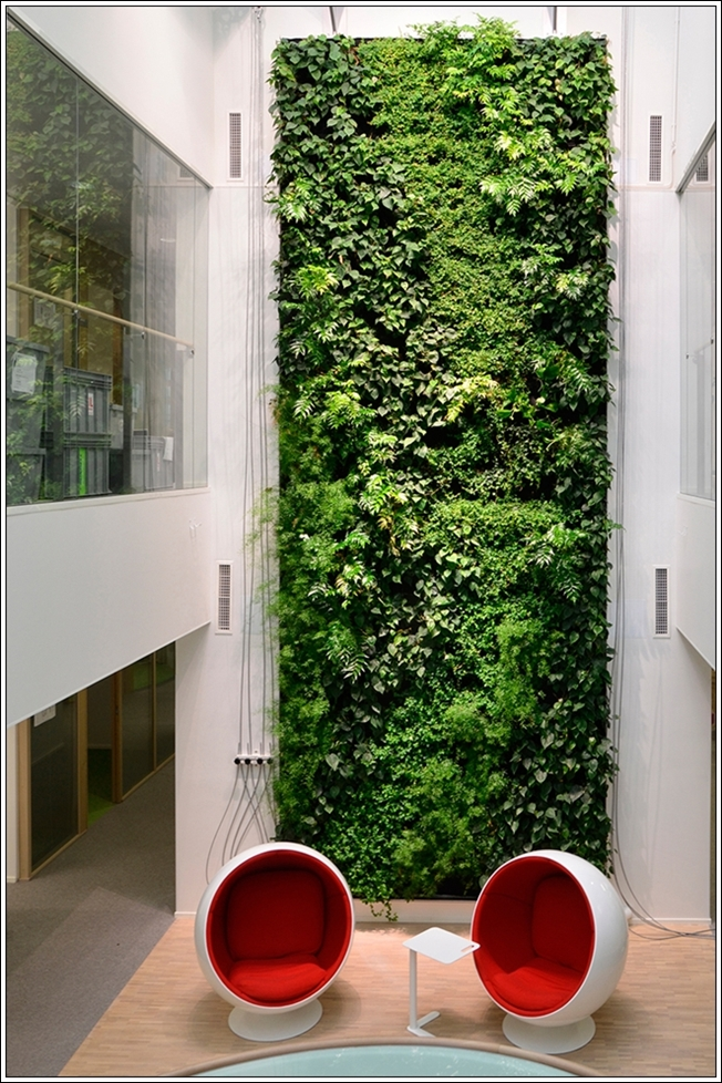 Vine covered walls for Jardin vertical artificial