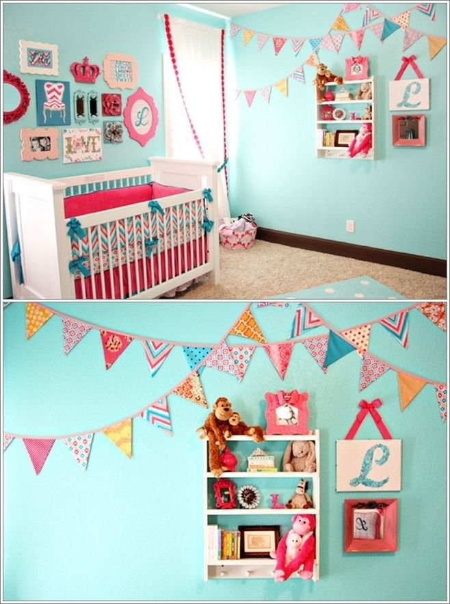 Kids Bedroom Bunting hang some blissful buntings in your child's room !