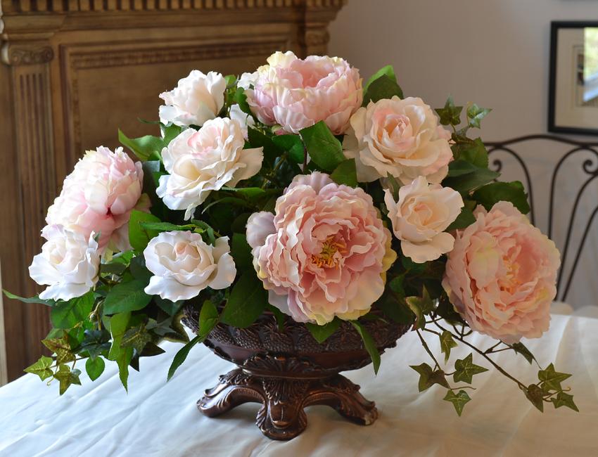 add beauty with a flower arrangement !!!