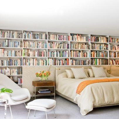 The Literary side of your home-Creative book wall designs for any room