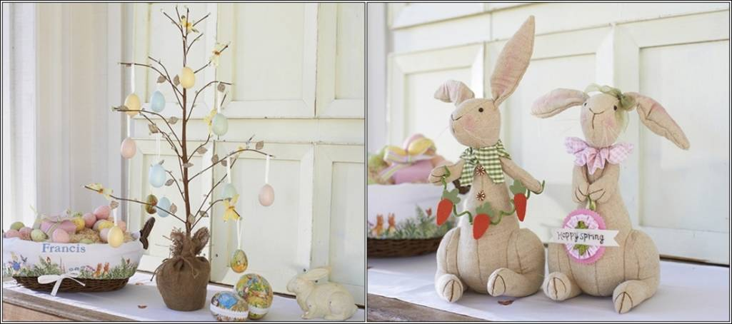 Table Centrepiece Ideas For Easter Lunch And Dinner