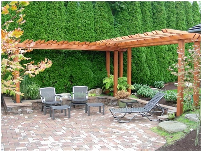 Enhance The Beauty of Your Garden or Patio With a Pergola! on L Shaped Backyard Ideas id=59124