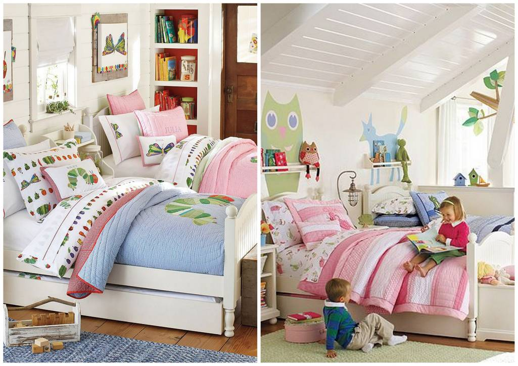 Sharing rooms for your kids for Children sharing bedroom ideas