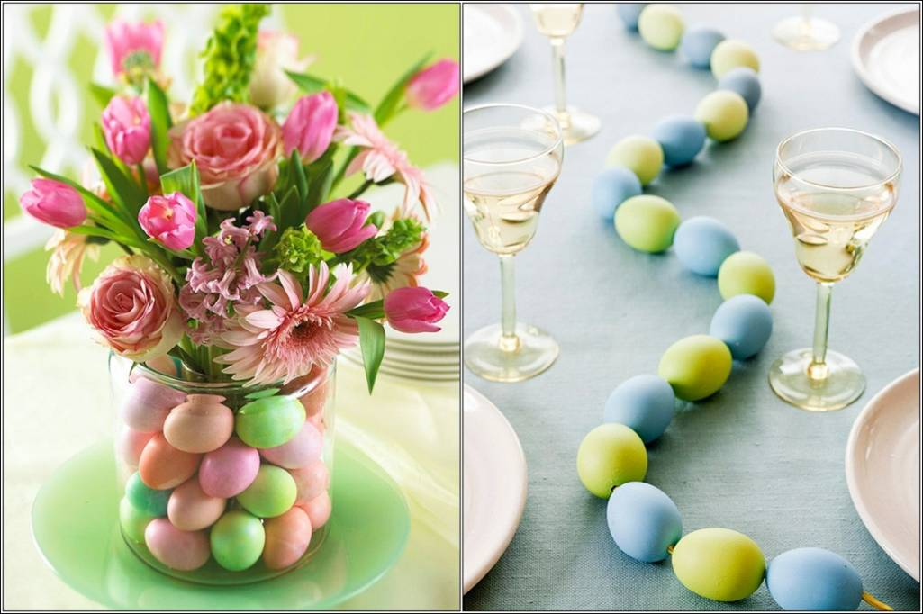 Table Centrepiece Ideas for Easter Lunch and Dinner!